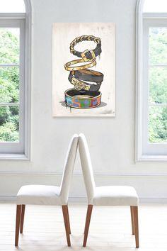 Modernarte Arm Candy One Canvas Art on @HauteLook