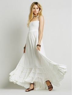 Free People Extratropical Dress Women Ivory