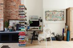 COLORFUL HOME OFFICE