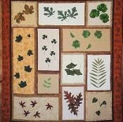 Natures Leaves Block of the Month Quilt  - via @Craftsy