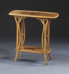 Emile Gallé tea table