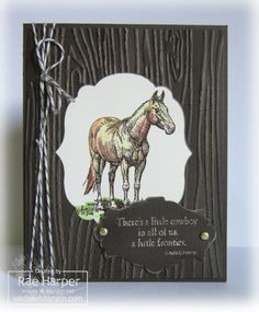A Little Cowboy in All of Us by RaeInReno - Cards and Paper Crafts at Splitcoaststampers