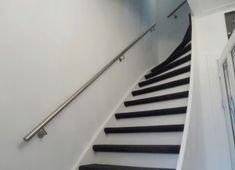Trapleuningen en balustrades - BD RVS Designs Glass Stairs Design, Modern, Home Decor, Stairs, Banisters, Lush, Trendy Tree, Decoration Home, Room Decor