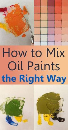 to mix oil paints, what are pigments and which to use. Beginners guide for color mixing for oil painting.How to mix oil paints, what are pigments and which to use. Beginners guide for color mixing for oil painting. Art Oil, Art Painting, Oil Painting Nature, Oil Painting Lessons, Oil Painting Landscape, Oil Painting Abstract, Oil Painting For Beginners, Color Mixing, Painting Tips