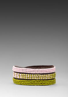 CHAN LUU for Bracelet in Pastel Pink