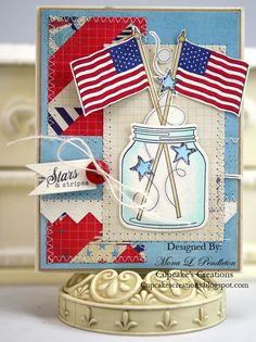 What a very special card for Memorial Day or any day