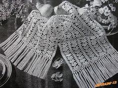 Háčkovaná šála