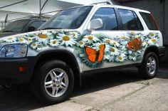 aerografia coches La mejor pintura para automoción es AutoAirColors, Createx y Wicked http://aerografia-fengda.es/Pintura-aerografia-Createx-Wicked