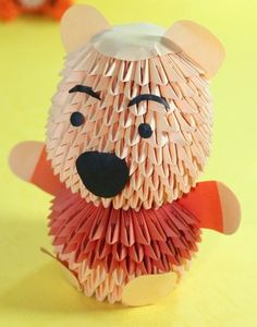 3D Origami - Baby Pooh