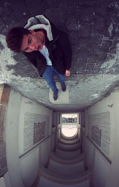 Point of view / 3 by Christopher  Hassler, via 500pxToo cool on forced perspective~