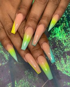 Some of my very most FAQs have to do with my nails! At any time I get my nails done I get tons and also lots of DMs regarding it. What did you do for you nails? Aycrlic Nails, Glam Nails, Neon Nails, Manicure, Coffin Nails, Bling Nails, Pastel Nails, Glitter Nails, Best Acrylic Nails