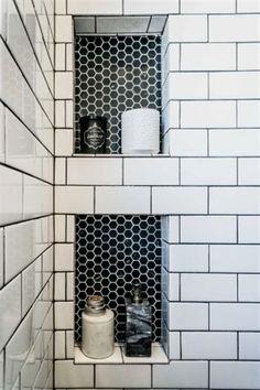 Bathroom Renovation Ideas: bathroom remodel cost, bathroom ideas for small bathrooms, small bathroom design ideas Bathroom Tile Designs, Bathroom Renos, Bathroom Renovations, Home Remodeling, Bathroom Storage, Bathroom Cabinets, Bathroom Layout, Restroom Cabinets, Bathroom Bin