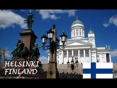 Helsinki: verano Visit Helsinki, All Continents, Lapland Finland, World Cities, Travel Videos, Interesting History, Beautiful Buildings, Capital City, Taj Mahal