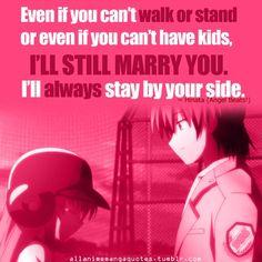 Yui and Hinata- Angel Beats! I cried harder in this part than any other anime. Angel Beats, Sad Anime Quotes, Manga Quotes, Otaku, Vocaloid, Anime Girl Crying, Clannad, Kaichou Wa Maid Sama, I Love Anime