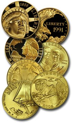 Certified American Commemorative Gold Coins. The United States Congress authorizes the minting of commemorative coins to celebrate and honor American people, places, events and institutions. Although these coins are legal tender, they are not minted for general circulation.