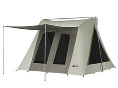 Kodiak Canvas Flex Bow VX Waterproof Quick Tent 6011 With Tarp is a super-deluxe canvas tent with two extra triangular windows on the sides, as compared to the deluxe tents of this brand. This is a true camping tent with a breathable material. Family Camping, Camping Gear, Camping Glamping, Family Tent, Scout Camping, Camping Hacks, Camping Storage, Rv Hacks, Diy Camping