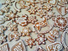 Wonderful gingerbread on Christmas Eve.