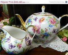 Seltmann Weiden Teapot Tea Pot and Creamer - Bavaria Germany