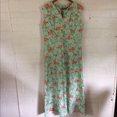 fe542ff7b6 I just added this to my closet on Poshmark: Maxi Dress Vintage Long Floral  70s Retro Size XL. Size: XL
