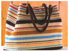 Delicadezas en crochet Gabriela: Bolso