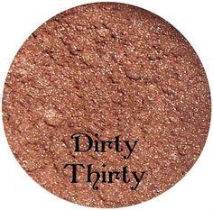 Neutral Brown Eyeshadow  DIRTY THIRTY  Mineral by SpectrumCosmetic, $3.00