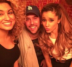 """Ariana Grande and Tori Kelly perform """"Right There"""""""