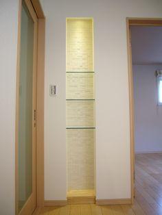 ハコの家 Wall Shelves, Bathroom Medicine Cabinet, Cosy, Tall Cabinet Storage, Household, Studio, Decoration, Furniture, Ideas