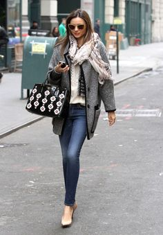 Mirandakerr Streetstyle Perfect Womens Fashion Uk Vintage Fashion Miranda Kerr