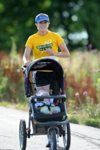 Great blog post on jogging strollers, running with baby and getting used to running with a stroller! Highly recommend!