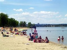 Just because we live in the mountains doesn't mean we can't relax on a beach! In fact, Colorado has many beautiful lakes