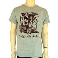 Men's T Shirt  Tuba Sib-Graphic Tee-100% Cotton- Printed Shirt music Funny Shirt by BANKUSSI on Etsy