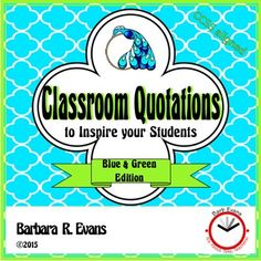 Great for metacognition!  Super for class discussions.  Educational decor as well.  $