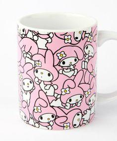#MyMelody mug for Mom's mocha