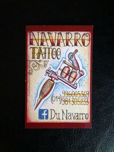 Tattooist Card