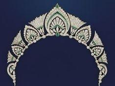 Royal Crowns, Royal Tiaras, Tiaras And Crowns, Royal Crown Jewels, Edwardian Jewelry, Antique Jewelry, Vintage Jewelry, Vintage Brooches, Diamond Tiara