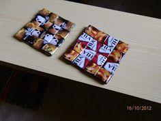 Marsan Tekeleet: Kahvipussityöt Barware, Coasters, Design, Paper, Bar Accessories, Coaster, Drinkware
