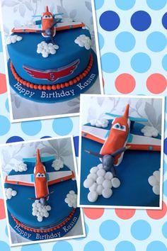 Disney planes birthday cake & dusty