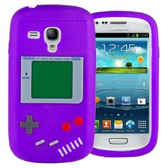 http://www.myicover.nl . Silicone Game Boy Soft Case Cover for Samsung Galaxy S3 III Mini i8190 ✿  ✿