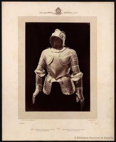 Media armadura de D. Juan Arias de Ávila conde de Puñonrostro. Laurent, J. 1816-1886 — Fotografía — 1868