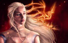 Daenerys Targaryen ~ Game of Thrones Fan Art ~ Mother of Dragons by Blind-Leviathan.deviantart.com on @DeviantArt