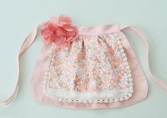Must sew a sweet apron for my little darling... someday she shall help her granny cook.