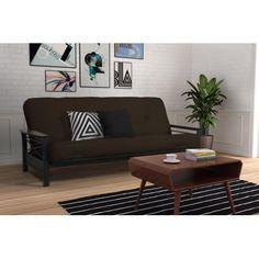Alessa Metal Futon Frame Black Dorel Home Products Pinterest And Metals