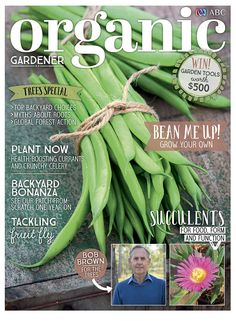 Let the latest (September) issue of Organic Gardener magazine inspire and invigorate you – just in time for Spring. We have a focus on trees – from backyard planting to global forest action and an interview with former Greens leader Bob Brown on the spiritual connection we have with trees. As for vegies and fruit, we have articles on growing beans, juicy celery, and currents, plus succulents, tackling fruit fly, cubby houses, making a wicking bed and more. So get set for spring gardening…