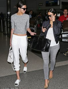 Kendall Jenner gets chummy with her half-sister's frenemy Paris Hilton #dailymail