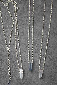 Quartz Necklace - handmade in Guatemala