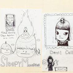 奈良美智さんのInstagramアカウントをまとめました。