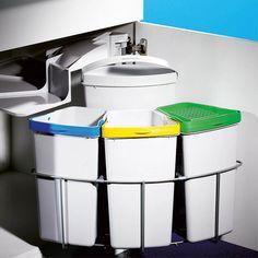 wesco ergomaster küchen bio mülleimer 11 liter arbeitsplatten ...