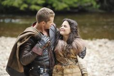 Snow White and Prince Charming. I LOVE this Show!