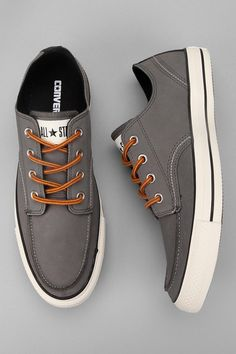 buy popular 312f9 c8895 We love the shape of a chuck taylor with the upgraded laces and leather  materials.
