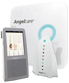 Angelcare Ecoute-bébé Vidéo AC1100, Moniteur mouvements et sons, Veilleuse